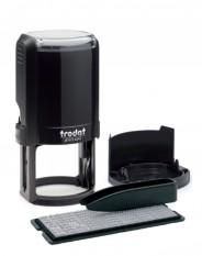 Trodat 4642/DB TYPO R2 самонаборная печать диам.42 мм, 2 круга