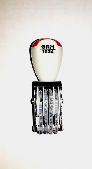 GRM 1534 Нумератор 4 разряда, 3 мм