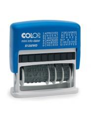 Colop S120/WD Мини-датер с 12 бух.терминами 3,8мм