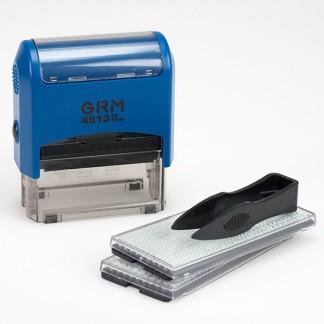 GRM 4913 P3 Typo Самонаборный штамп 5 строк