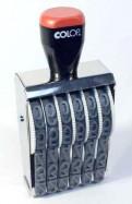 1806 Нумератор 6 разрядов, шрифт 18 мм