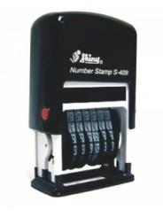 Shiny S-409 Нумератор 6 разрядов (4мм)
