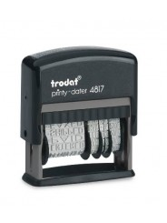 Trodat 4817 PRINTY  датер с 12 бухгалтерскими терминами