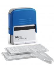 Colop Printer C30/2-Set Самонаборный штамп 5 строк с 2-мя кассами