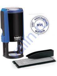 Trodat 4630/DB TYPO R1 самонаборная печать 30мм,1 круг
