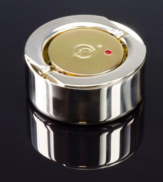 """""""Техно-Рубин 40""""  - карманная оснастка для печати, диам.40мм (металл ). Укомплектована штемпельной подушкой."""