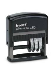Trodat 4813 PRINTY  датер,со свободным полем 26х9 мм,дата 3.8 мм