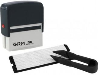 GRM 30 DIY 5 lines, Самонаборный штамп 5 строк с одной кассой