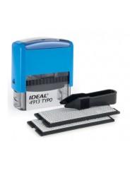 IDEAL 4913/DB TYPO Самонаборный штамп 58х22 мм, 5 строк, 2 кассы