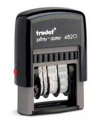 Trodat 4820 PRINTY  датер 4 мм