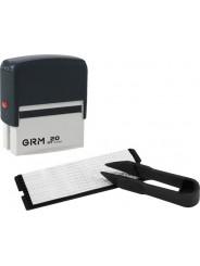 GRM 20 DIY 4 lines  Самонаборный штамп 4 строки с одной кассой
