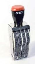 15004 Нумератор 4 разряда, шрифт 15 мм