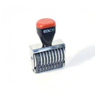 04010 Нумератор 10 разрядов, шрифт 4 мм