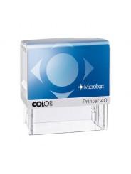 Colop Printer 40 Microban  оснастка для штампа 59 х 23 мм антибактериальная