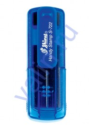 Shiny S-722 Карманный штамп 38х14мм