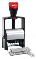 Colop S2660 Set-F самонаборный датер,6 строк без рамки, 4 строки с рамкой
