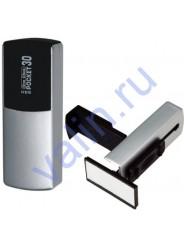 GRM Pocket 30 ONE CLICK  Карманный штамп 46х21 мм