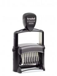 Trodat 55510/PL PROFESSIONAL  нумератор 10 разрядов с текстовым полем, 5 мм