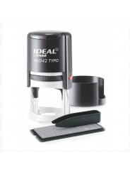 IDEAL 46042/DB TYPO R1 самонаборная печать диам.42 мм,1 круг