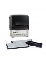 Colop Printer 50 Set-F Самонаборный штамп 8 строк без рамки, 6 строк с рамкой