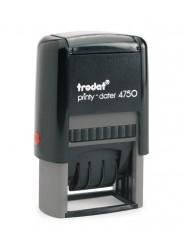 Trodat 4750 PRINTY  датер,со свободным полем 41х24 мм