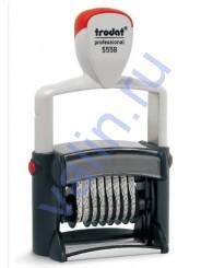 Trodat 5558 PROFESSIONAL банковский (цифровой) датер, 5 мм
