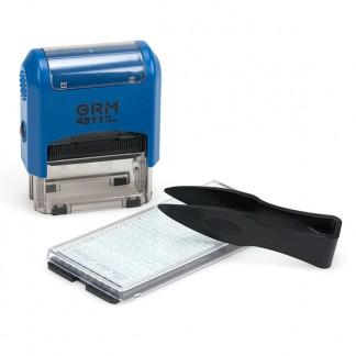 GRM 4911 P3 Typo Самонаборный штамп 3 строки