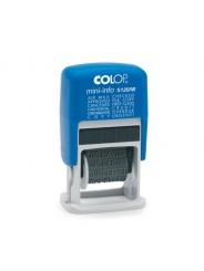 Colop S120/W Штамп с 12 бухгалтерскими терминами 3,8мм