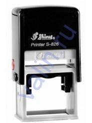 Shiny S-826 оснастка для штампа 41 x 24 мм