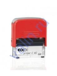 Colop Printer C 40 Compact  оснастка для штампа 59 х 23 мм