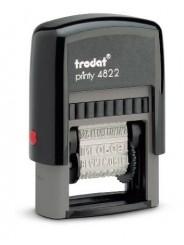 Trodat 4822 PRINTY  штамп с 12 бухгалтерскими терминами