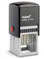 Trodat 4724 PRINTY  датер,со свободным полем 40х40 мм