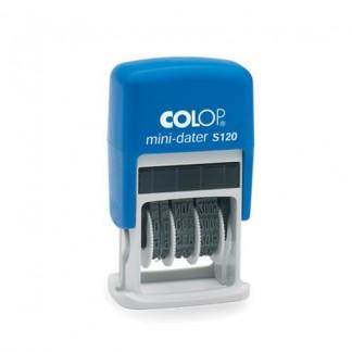 Colop S120/SD Мини-датер 3,8 мм (сокращенная дата)