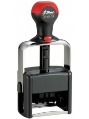 Shiny H-6103 датер с полем для текста 50х30мм