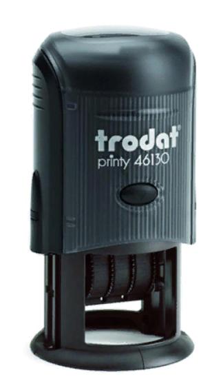 Trodat 46130 PRINTY  датер,со свободным полем диам.30 мм