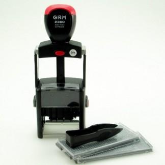 GRM 2360 2pads DIY 4 Lines самонаборный датер,4 строки