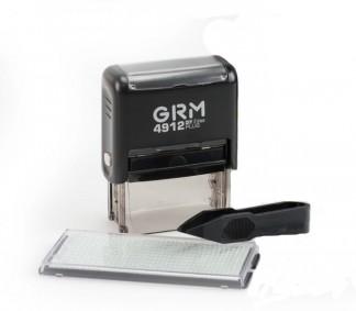 GRM 4912 Plus (GRM 30 Plus) 5 Line, самонаборный штамп 5 строк, 1 касса