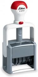 Shiny E-913 датер с полем для текста 50х30мм