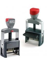 GRM 55510  нумератор 10 разрядов, 4 мм (металл)