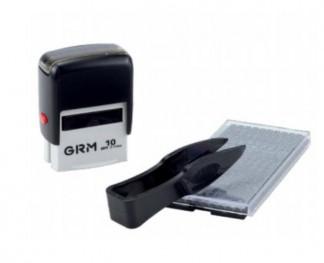 GRM 10 Самонаборный штамп 3 строки