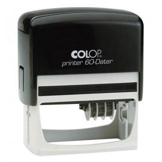 Colop Printer 60-Dater  датер,со свободным полем 37х76 мм с датой справа