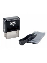 GRM 4911 Plus (GRM 20 Plus) 5 Lines, самонаборный штамп 5 строк, 1 касса