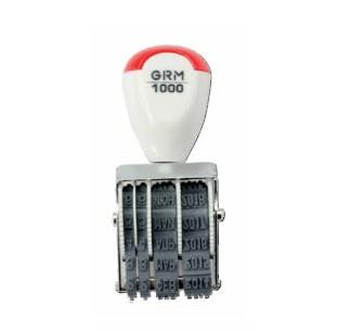GRM 1000 датер (месяц буквами),высота даты 3 мм