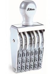 Shiny N-A06 Нумератор 6 разряда шрифт 15 мм