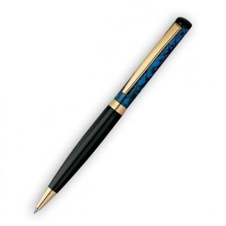 HERI 6720 Ручка со штампом ЧЕРНЫЙ лакированный корпус